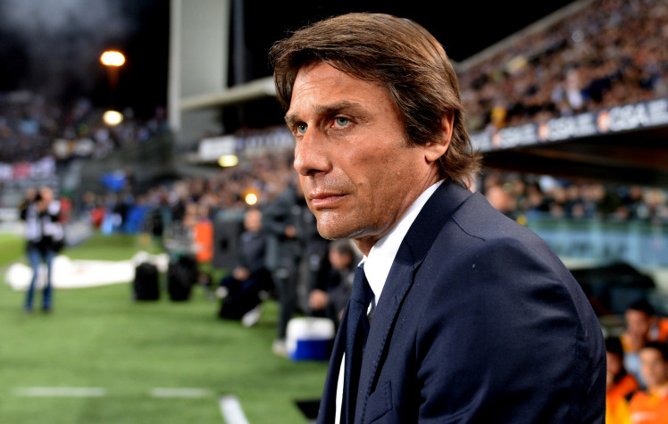 UDINE, ITALY - APRIL 14:  Head coach  of Juventus Antonio Conte looks on during the Serie A match between Udinese Calcio and Juventus at Stadio Friuli on April 14, 2014 in Udine, Italy.  (Photo by Dino Panato/Getty Images)